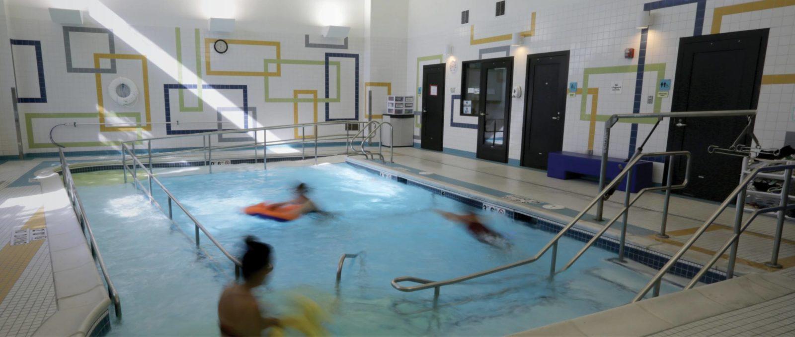 Pool Therapy at Ranken Jordan