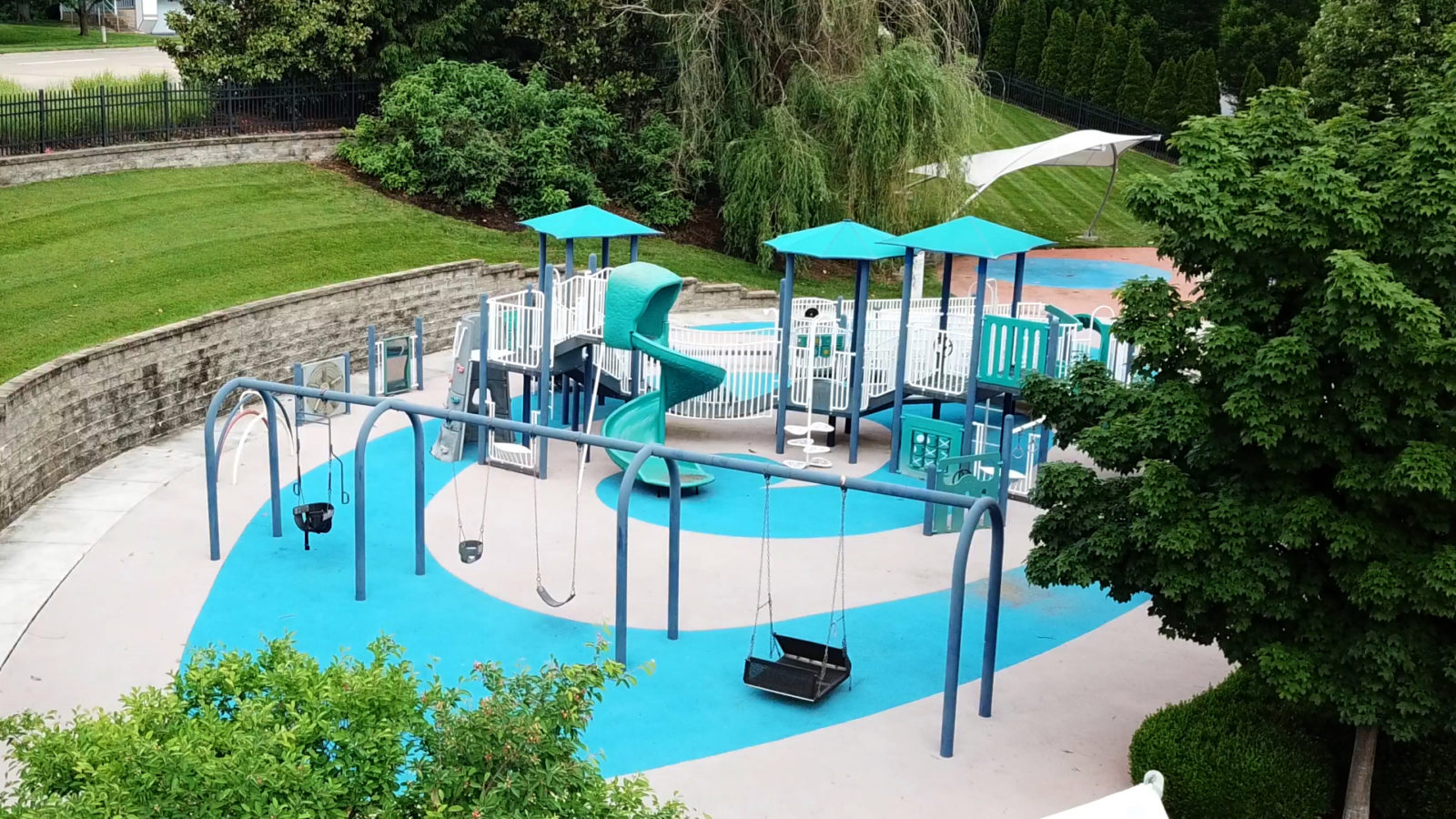 The Outside Playground at Ranken Jordan